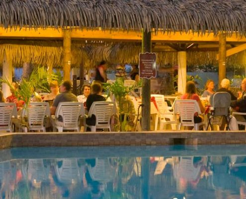The Edgewater Resort & Spa, Cook Islands - Poolside Dining