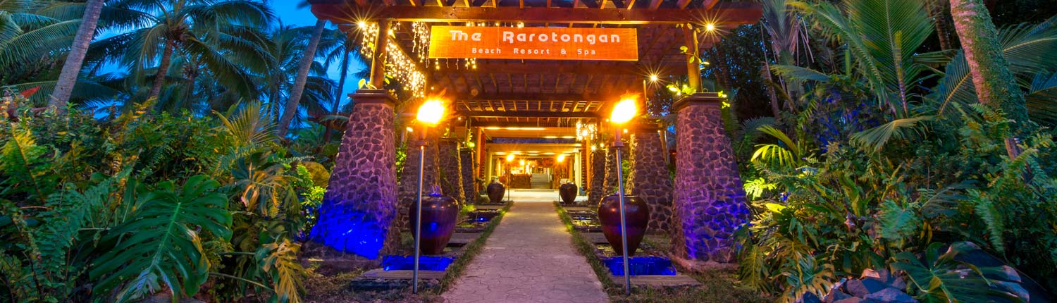 The Rarotongan Beach Resort& Spa, Cook Islands - Welcome