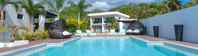 Crystal Blue Lagoon Luxury Villas, Cook Islands - Infinity Pool