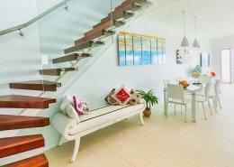 Crystal Blue Lagoon Luxury Villas, Cook Islands - Beachfront Villa Interior