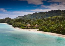 Sea Change Villas, Cook Islands - Aerial View