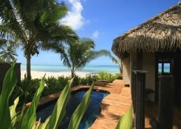 Sea Change Villas, Cook Islands - Beachfront Villa Pool