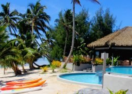 Nautilus Resort Luxury Villas, Cook Islands - Beachfront Restaurant