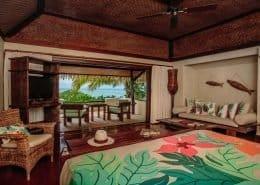 Pacific Resort Aitutaki Nui, Cook Islands - Bure Interior