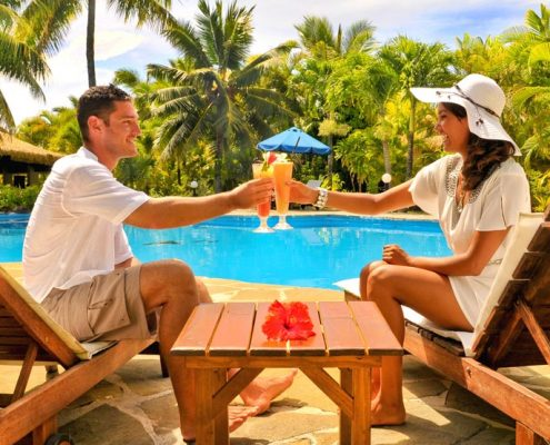 Crown Beach Resort, Cook Islands - Cocktails