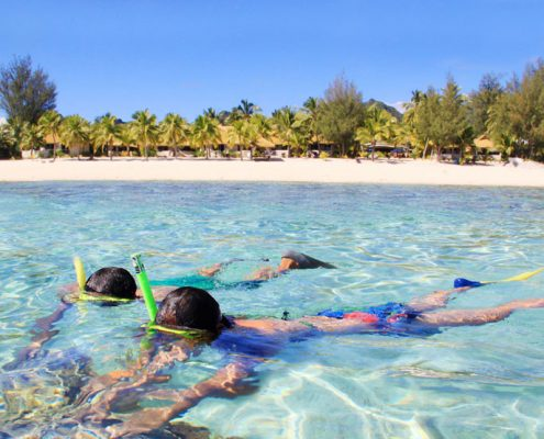 Crown Beach Resort, Cook Islands - Snorkeling