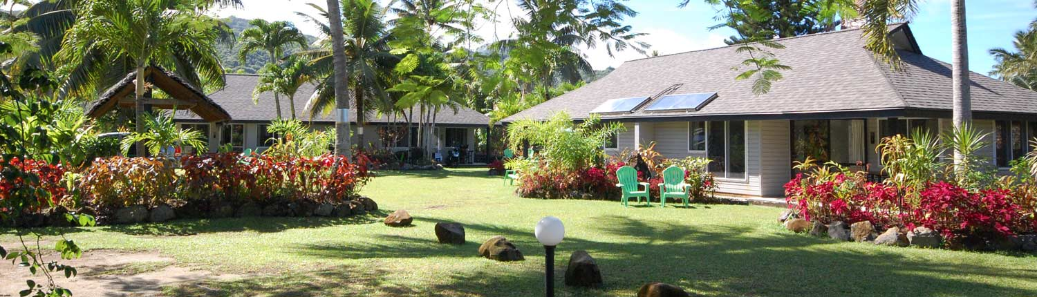 Lagoon Breeze Villas, Cook Islands - 1 Bedroom Villa Exterior