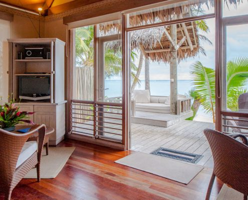 Little Polynesian Resort, Cook Islands - Are Interior