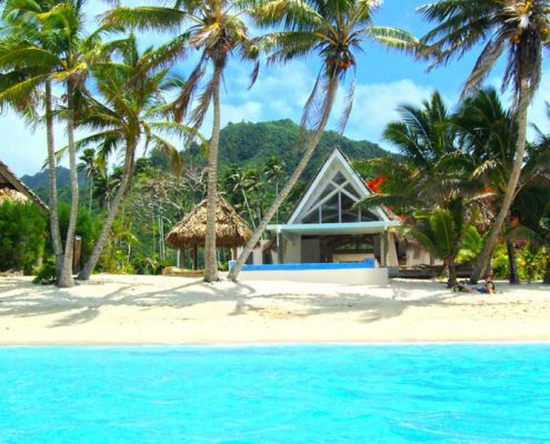 Little Polynesian Resort, Cook Islands - Beachfront