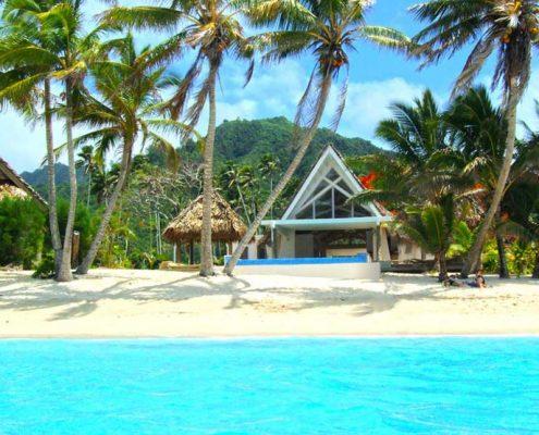 Little Polynesian Resort, Cook Islands - Beachfront