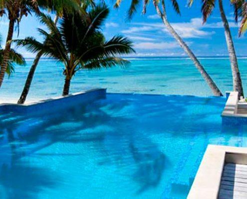 Little Polynesian Resort, Cook Islands - Pool