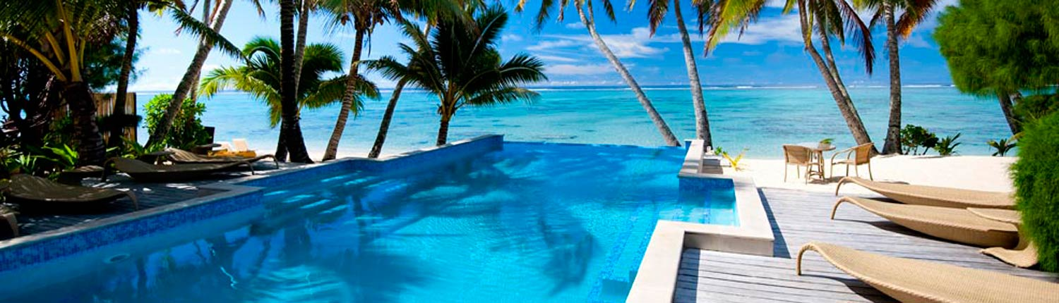 Little Polynesian Resort, Cook Islands - Pool