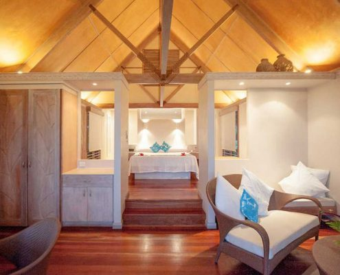 Little Polynesian Resort, Cook Islands - Resort Are Interior