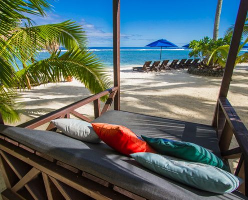 Manuia Beach Resort, Cook Islands - Beach