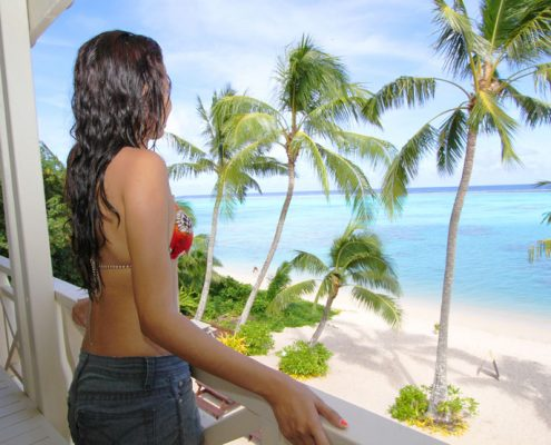 Moana Sands Beachfront Hotel & Villas, Cook Islands - Balcony Views