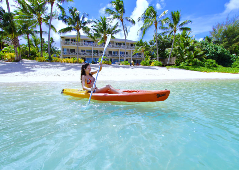 Moana Sands Beachfront Hotel Amp Villas Cook Islands