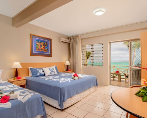 Moana Sands Beachfront Hotel & Villas, Cook Islands - Hotel Room Interior