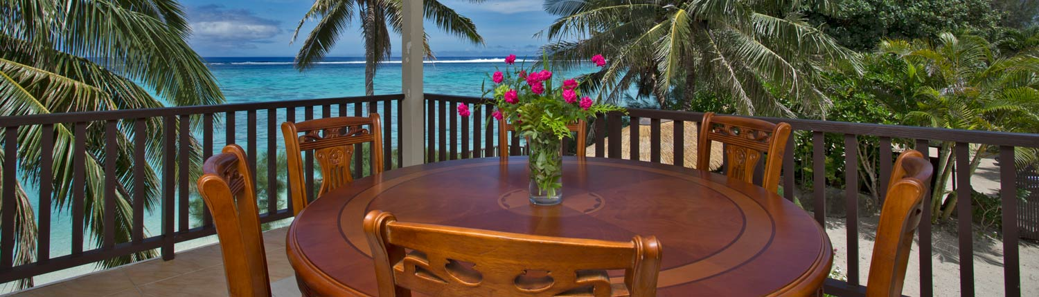 Moana Sands Beachfront Hotel & Villas, Cook Islands - Villa Views