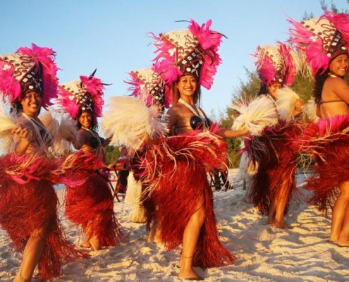 Muri Beach Club Hotel, Cook Islands - Polynesian Dancers