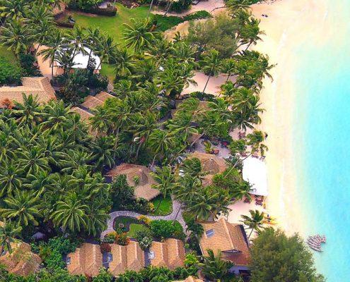 Pacific Resort Rarotonga, Cook Islands - Aerial View