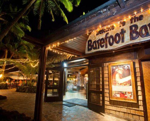 Pacific Resort Rarotonga, Cook Islands - Barefoot Bar