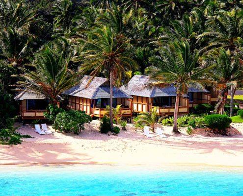Palm Grove, Cook Islands - Beach