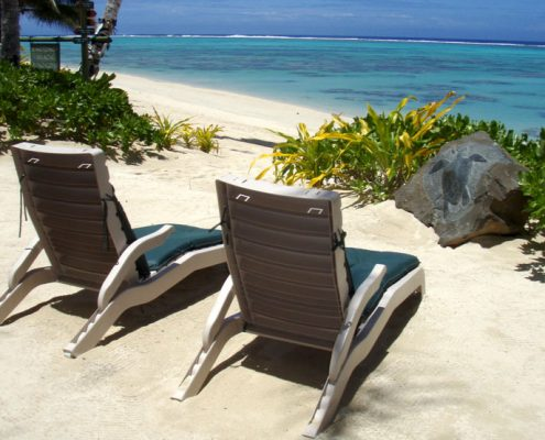 Rarotonga Beach Bungalows, Cook Islands - Sun Lounges