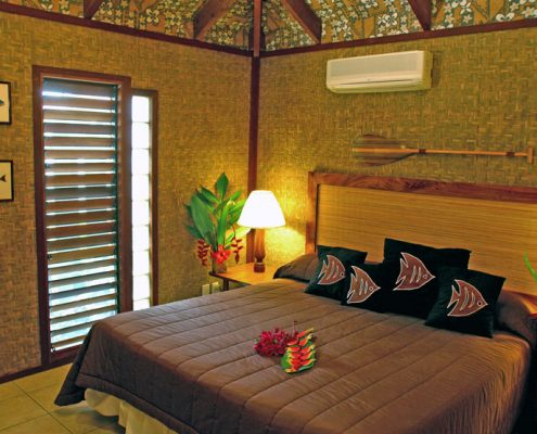 Rarotonga Beach Bungalows, Cook Islands - Bungalow Interior