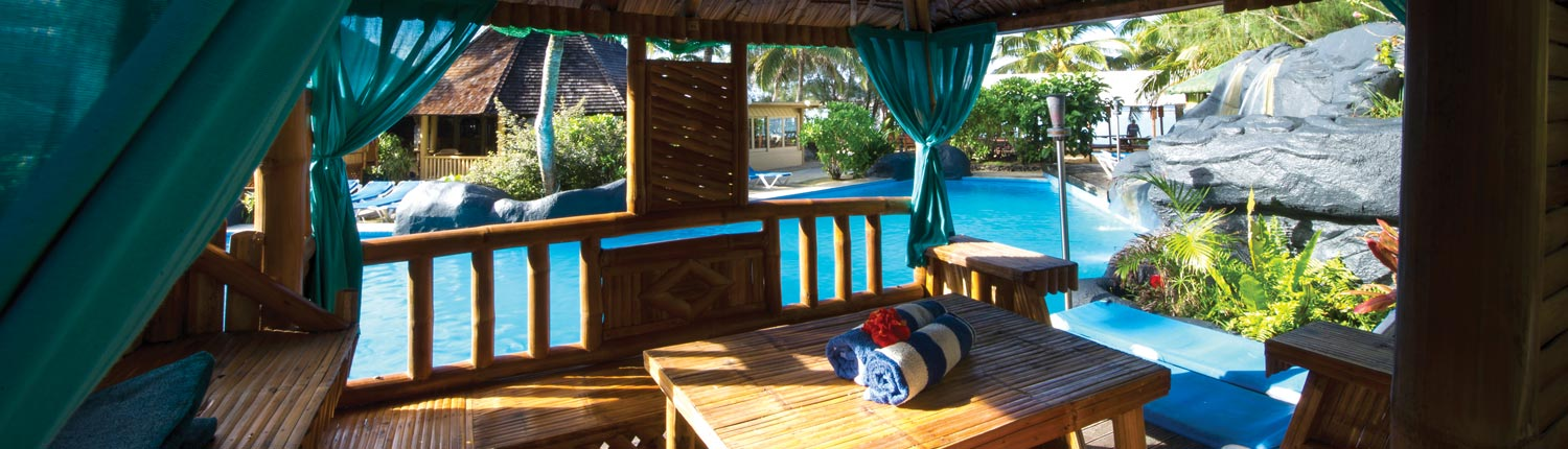 Rarotongan Beach Resort & Spa, Cook Islands - Poolside Gazebo