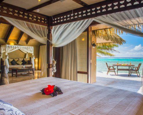 Rumours Luxury Villas & Spa, Cook Islands - Views from Beachfront Villa