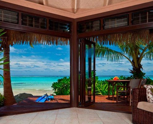 Sea Change Villas, Cook Islands - Beachfront Villa
