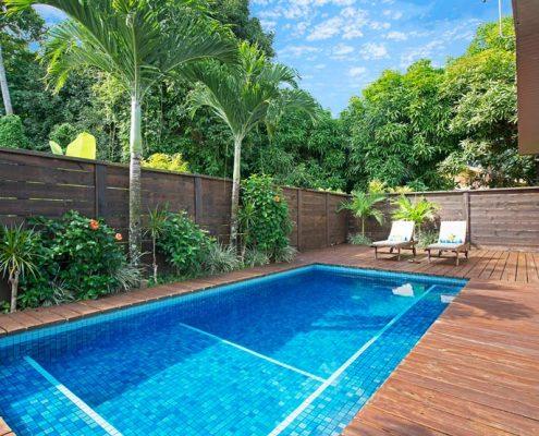 Sea Change Villas, Cook Islands - Lagoon View Pool