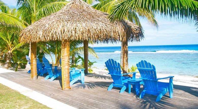 Sunset Resort, Cook Islands - Beachfront