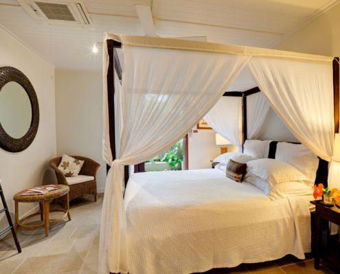 Te Vakaroa Villas, Cook Islands - 1 Bedroom Villa Bedroom