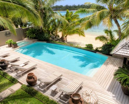 Te Vakaroa Villas, Cook Islands - Horizon Pool