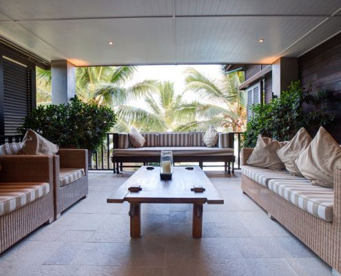 Te Vakaroa Villas, Cook Islands - Outdoor Patio Lounge