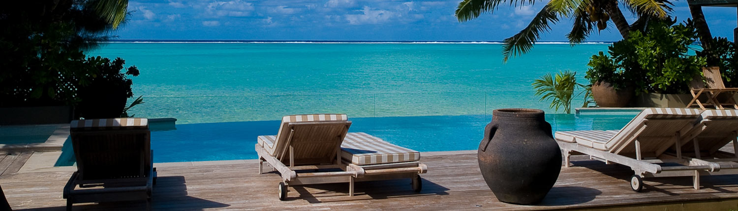 Te Vakaroa Villas, Cook Islands - Pool