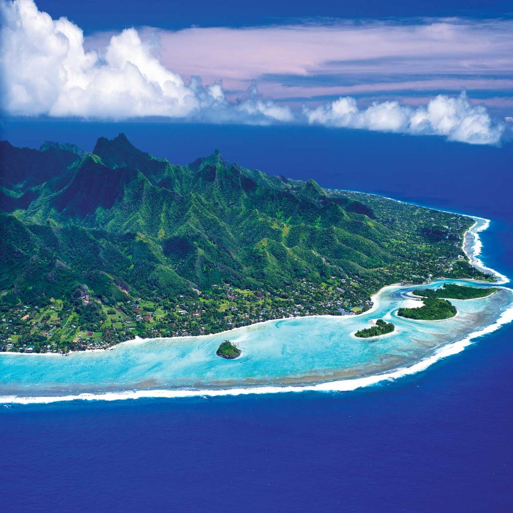 The Cook Islands - Aerial View
