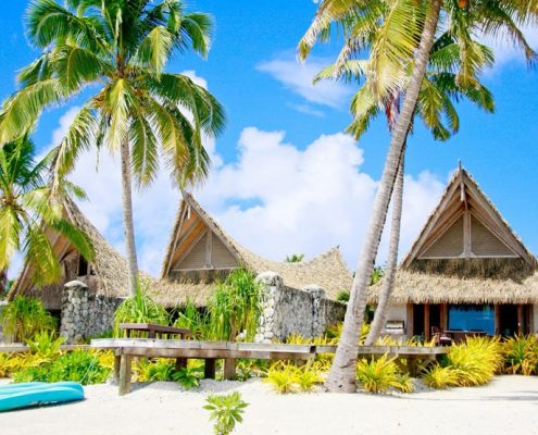 Aitutaki Escape, Cook Islands - Exterior Beachfront View