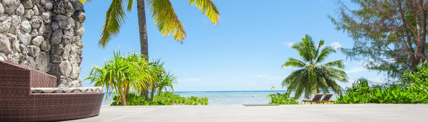 Aitutaki Escape, Cook Islands - View From Deck