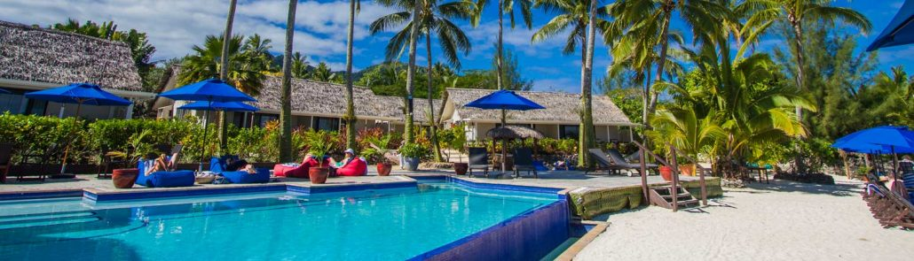 Manuia Beach Resort, Cook Islands - Pool