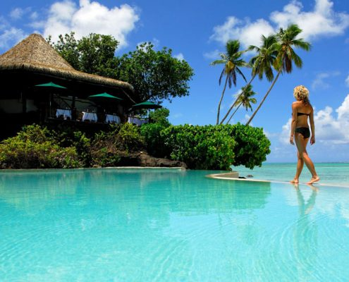Pacific Resort Aitutaki, Cook Islands - Resort Pool
