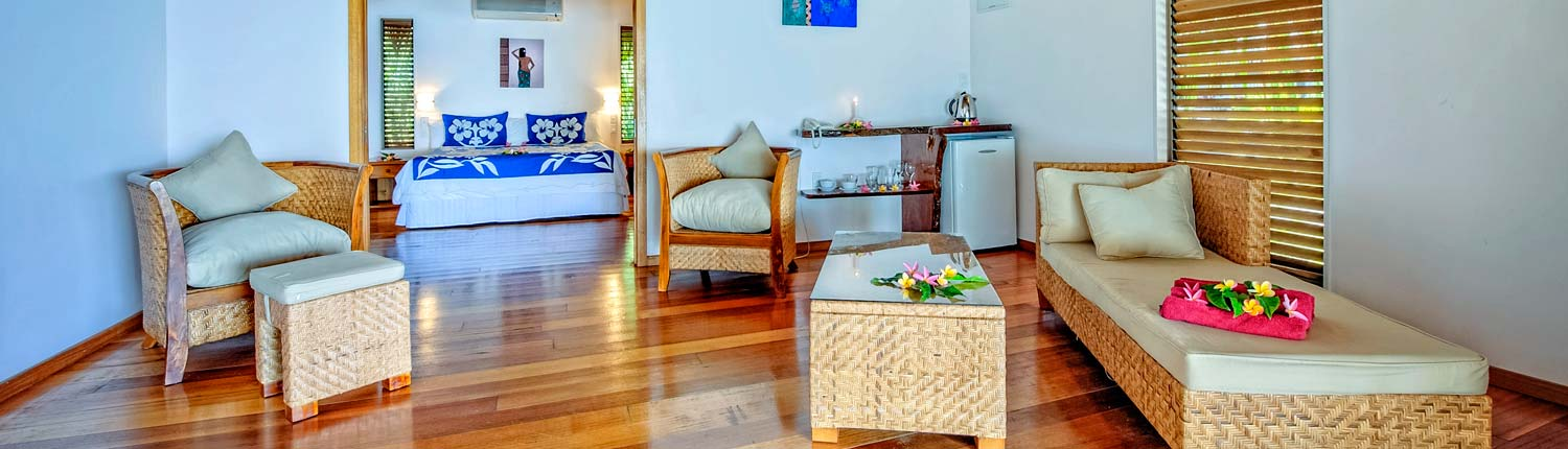 Tamanu Beach, Cook Islands - 1 Bedroom Interior