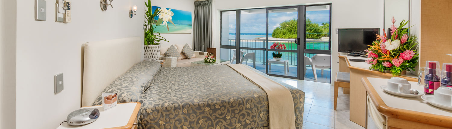 Muri Beach Club Hotel, Cook Islands - Deluxe Beachfront Room